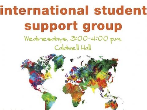 International Student Support Group poster